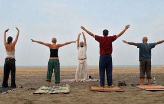 Yoga on Goa Beaches Tour